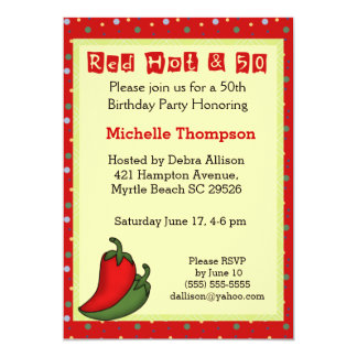 Funny 50th  Birthday Invitations