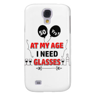 Funny 50th year birthday gift galaxy s4 covers