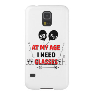 Funny 50th year birthday gift galaxy s5 cases