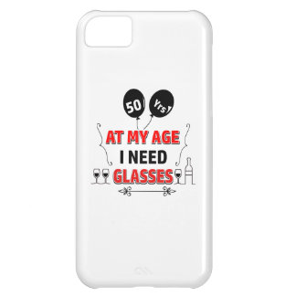 Funny 50th year birthday gift iPhone 5C case