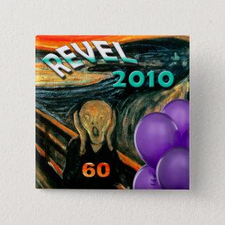 Funny 60th Birthday 15 Cm Square Badge