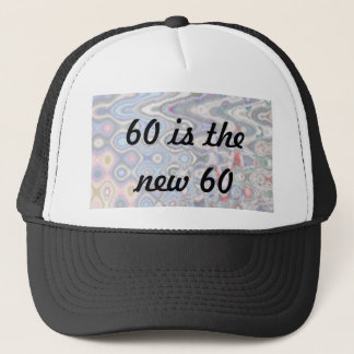 Funny 60th Birthday Cap - 60 is the New 60