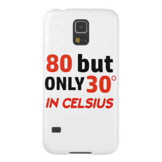 funny 80 birthday design galaxy s5 cover