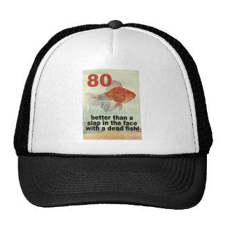 Funny 80th Birthday Cap