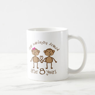 Funny 8th Wedding Anniversary Gifts Coffee Mug
