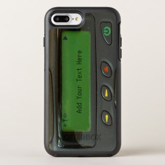 Funny 90s Old School Pager Impressive Look OtterBox Symmetry iPhone 7 Plus Case