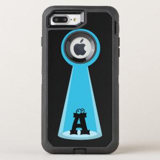 Funny Abducted Monogram OtterBox Defender iPhone 7 Plus Case