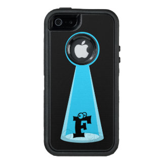 Funny Abducted Monogram OtterBox iPhone 5/5s/SE Case