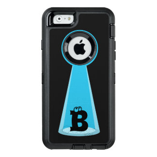 Funny Abducted Monogram OtterBox iPhone 6/6s Case