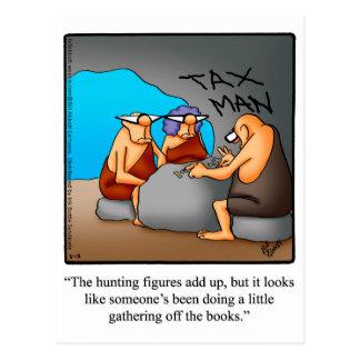 Funny Accountant Humour Postcard