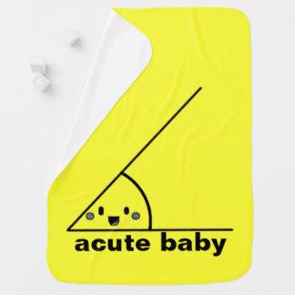 Funny acute angle geeky buggy blanket