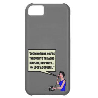 Funny ADHD iPhone 5C Case