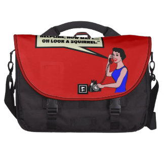 Funny ADHD Laptop Commuter Bag