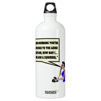 Funny ADHD SIGG Traveller 1.0L Water Bottle