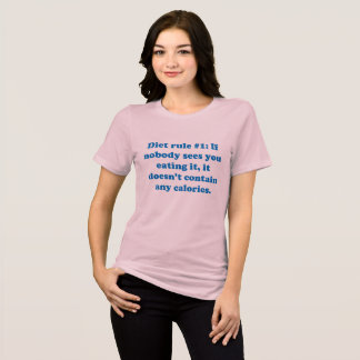 Funny adult sarcasm humor & jokes about diet T-Shirt