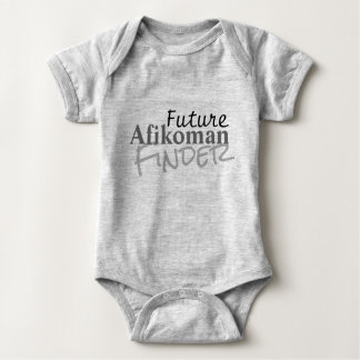 Funny Afikoman Passover Phrase Baby Bodysuit