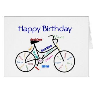 Funny Age Birthday Bike, Cycling, Sport, Hobby Card