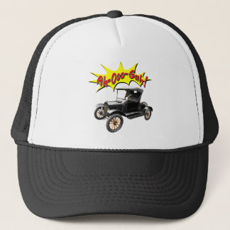 Funny Ah-Ooo-Gah Old Classic Car Horn Comic Trucker Hat