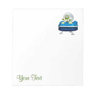 Funny Alien Notepad