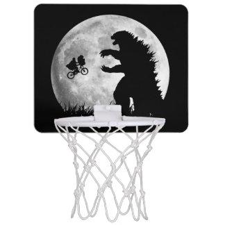 Funny ALIENS vs MONSTERS Mini Basketball Hoop