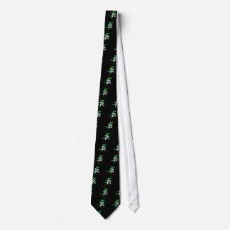 Funny Alligator Karate Art Tie