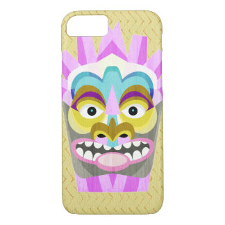 Funny Aloha Tiki Hut Monster iPhone 8/7 Case
