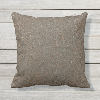 Funny Already-Dirty Soil-Textured Outdoor Cushion