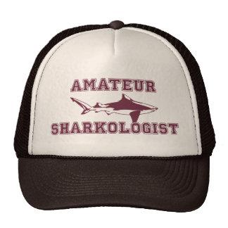 Funny Amateur Shark Expert Cap