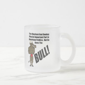 Funny American Politics T-shirts Gifts Frosted Glass Mug
