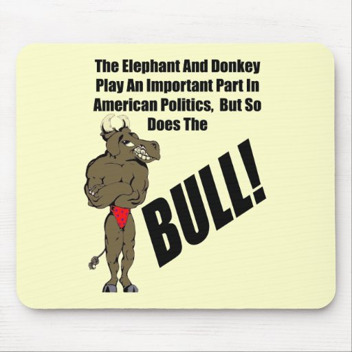 Funny American Politics T-shirts Gifts Mouse Mats
