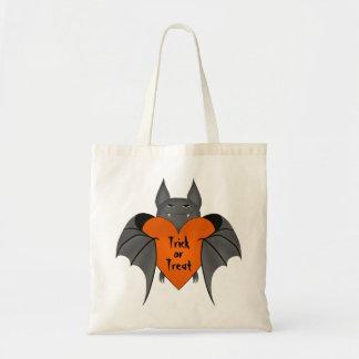 Funny amorous Halloween vampire bat Bag
