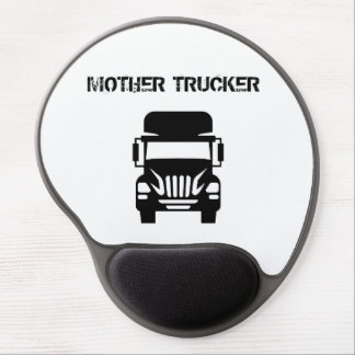 Funny and cool Mother Trucker by Storeman Gel Mouse Pad