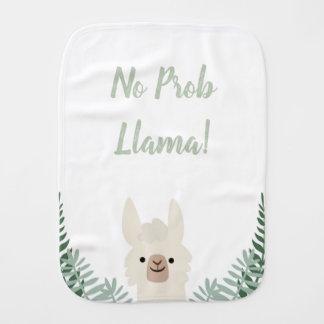 Funny and Cute Llama Baby Burp Cloth