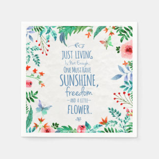 Funny and Inspiring Life Quote | Napkin Paper Napkin