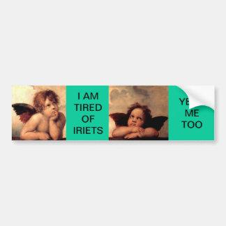 Funny Angels - Cherubs Bumper Sticker