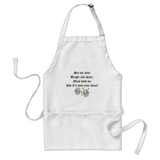 Funny Angels T-shirts Gifts Adult Apron