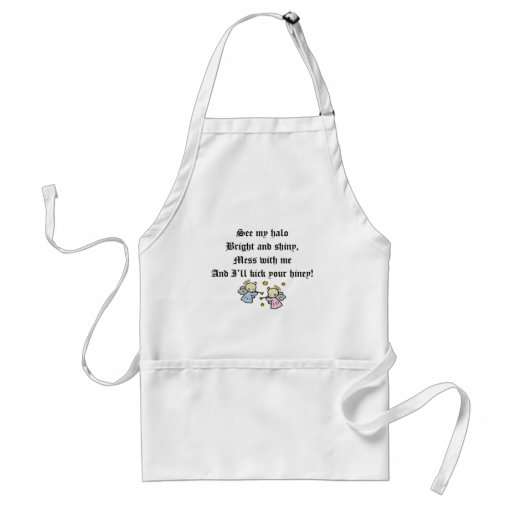 Funny Angels T-shirts Gifts Aprons