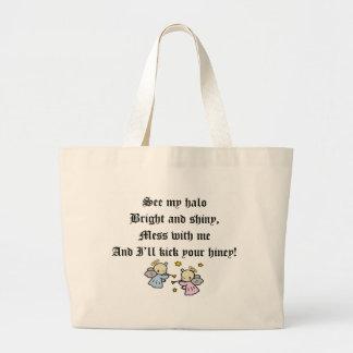 Funny Angels T-shirts Gifts Jumbo Tote Bag