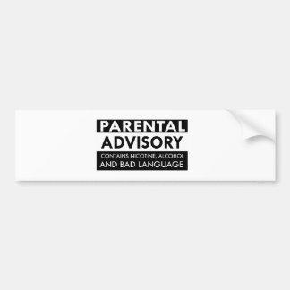 Funny anger designs bumper sticker