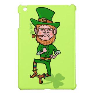 Funny Angry Lucky Irish Leprechaun iPad Mini Covers