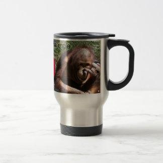Funny Animal Life Lessons #1 Travel Mug