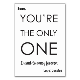 Funny Anniversary Card | Simple Couples Card