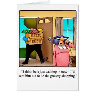 Funny Anniversary Humour Card For Them