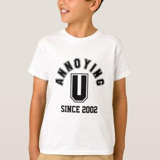 Funny Annoying You Boy Tee, Black T-Shirt