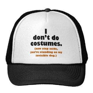 Funny Anti-Costume Halloween Cap