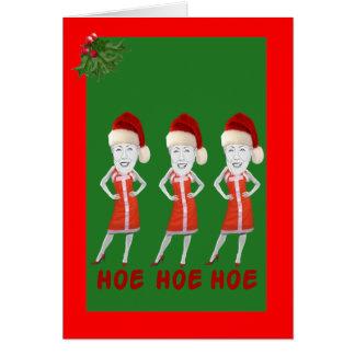 Funny anti Hillary Christmas Card