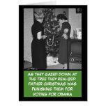 Funny anti Obama Christmas Greeting Card
