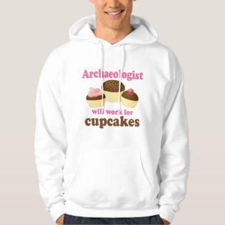 Funny Archaeologist Hooded Sweatshirt