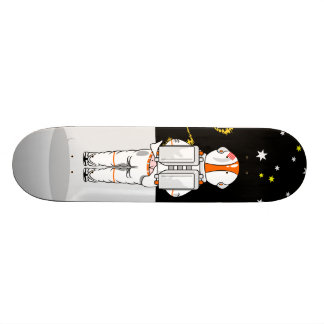 Funny Astronaut Caught Short Weeing In Space Skate Board Decks