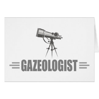 Funny Astronomy Greeting Card
